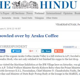 Wah! Araku Coffee: Modi